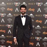 Miguel Ángel Muñoz en los Premios Goya 2017