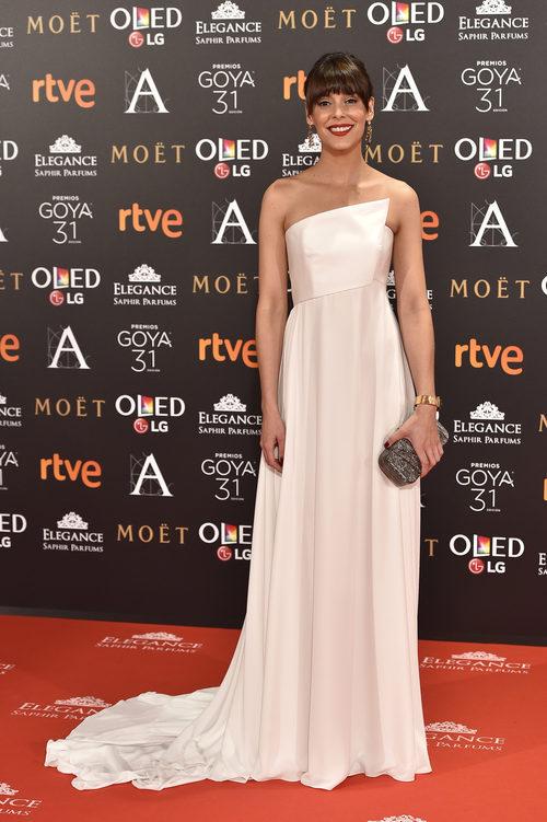 Belén Cuesta en los Premios Goya 2017