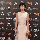 Anna Castillo en los Premios Goya 2017