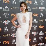 Natalia Sánchez en los Premios Goya 2017
