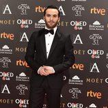 Ricardo Gómez en los Premios Goya 2017
