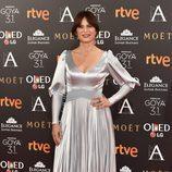 Aitana Sánchez-Gijón en los Premios Goya 2017