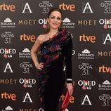 Silvia Abascal en los Premios Goya 2017