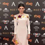 Marta Nieto en los Premios Goya 2017