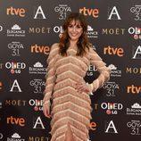 La actriz Silvia Alonso en los Goya 2017