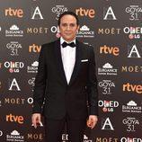Luis Callejo en los Premios Goya 2017