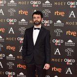 Rodrigo Sorogoyen en la alfombra roja de los Premios Goya 2017