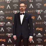 Fele Martín en la alfombra roja de los Premios Goya 2017