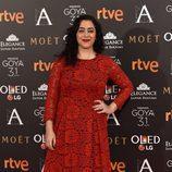 María Isasi en los Premios Goya 2017