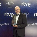 David Pulido, ganador a mejor guión original