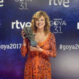Emma Suárez, actriz galardonada con dos Goya 2017