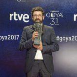 Manolo Solo, ganador del Goya 2017 a actor de reparto
