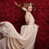 Alexandra Jiménez posa en los premios Goya 2017