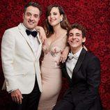 Daniel Guzmán, Natalia de Molina y Miguel Herrán en los premios Goya 2017