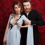 Leticia Dolera y Manuel Burque en los premios Goya 2017