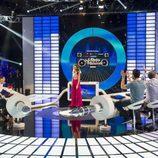 Concursantes en el programa 'El gran reto musical'