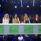 Norma Duval, Lucía Jiménez, Natalia y Pepa Rus en 'El gran reto musical'