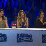 Norma Duval, Lucía Jiménez y Natalia OT aplaudiendo en 'El gran reto musical'
