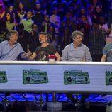 Francisco, Nacho Guerreros, Javivi y Octavi Pujades en 'El gran reto musical'