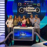 Norma Duval, Lucía Jiménez, Natalia OT, Pepa Rus, Francisco, Javivi y Eva González en 'El gran reto musical'
