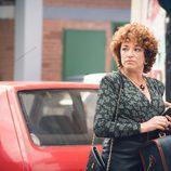 Cristina Marcos, que interpreta a Olga, llega a San Genaro en 'Cuéntame cómo pasó'