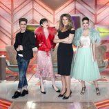Pelayo, Natalia, Carlota Corredera y Cristina son el nuevo equipo de 'Cámbiame'