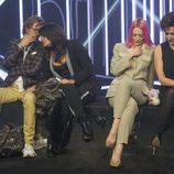 Alejandro Abad, Aída Nízar, Daniela Blume e Irma Soriano, en la sexta gala de 'GH VIP 5'