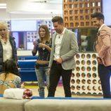 Elettra Lamborghini, Emma Ozores, Ivonne Reyes, Sergio Ayala y Marco Ferri en la sexta gala de 'GH VIP 5'