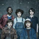 Primera imagen de los protagonistas de 'Stranger Things' en la segunda temporada