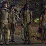 """Los niños de 'Stranger Things' se disfrazan de """"Los Cazafantasmas"""" en la segunda temporada de la serie"""