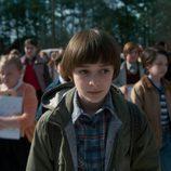 Will Byers, interpretado por Noah Schnapp, en la segunda temporada de 'Stranger Things'