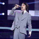 Blas Cantó imita a Nino Bravo en la gala 15 de 'Tu cara me suena'