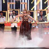 Rosa López imita a Taylor Swift en la gala 15 de 'Tu cara me suena'