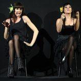 Esther Arroyo imita a Rozalén en la gala 15 de 'Tu cara me suena'