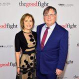 Michelle y Robert King en la première de 'The Good Fight'