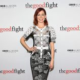 Carrie Preston en el estreno de 'The Good Fight'
