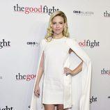 Heléne Yorke en la première de 'The Good Fight'