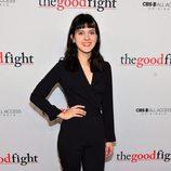 Grace Rex en el estreno de 'The Good Fight'