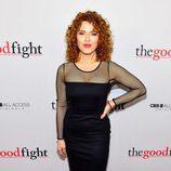 Bernadette Peters en la première de 'The Good Fight'