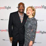 Delroy Lindo y Christine Baranski en la première de 'The Good Fight'