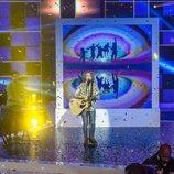 """Manel Navarro canta """"Do it for your lover"""" en la final de 'Objetivo Eurovisión'"""