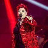 Maika Barbero en la gala de 'Objetivo Eurovisión'