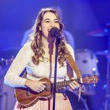 Paula Rojo canta en la gala de 'Objetivo Eurovisión'