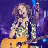 Manel Navarro canta en la gala de 'Objetivo Eurovisión'