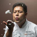 El cocinero Víctor Gutiérrez es concursante de la cuarta edición de 'Top Chef'