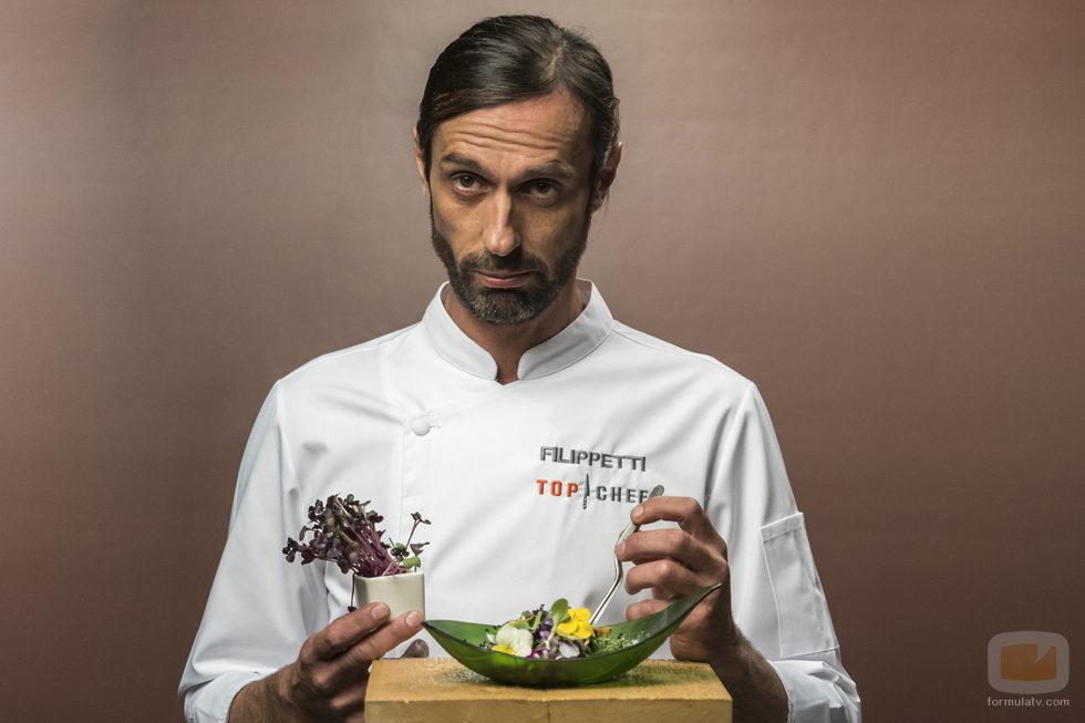 Federico Flipetti, concursante de la cuarta edición de 'Top Chef'