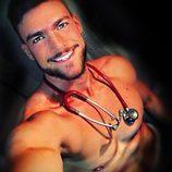 Fran Suárez es el enfermero más sexy de España