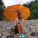 Corina Randazzo posa en su visita a Costa Rica en 'Viajeras con B'