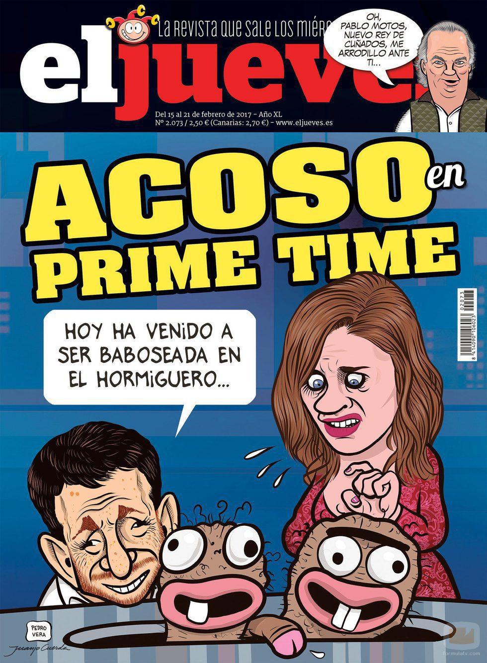 La portada de El Jueves que arremete contra Pablo Motos y 'El hormiguero'