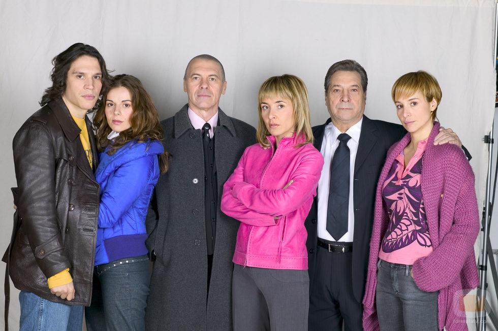 El reparto de 'Lobos', la serie policial de Antena 3